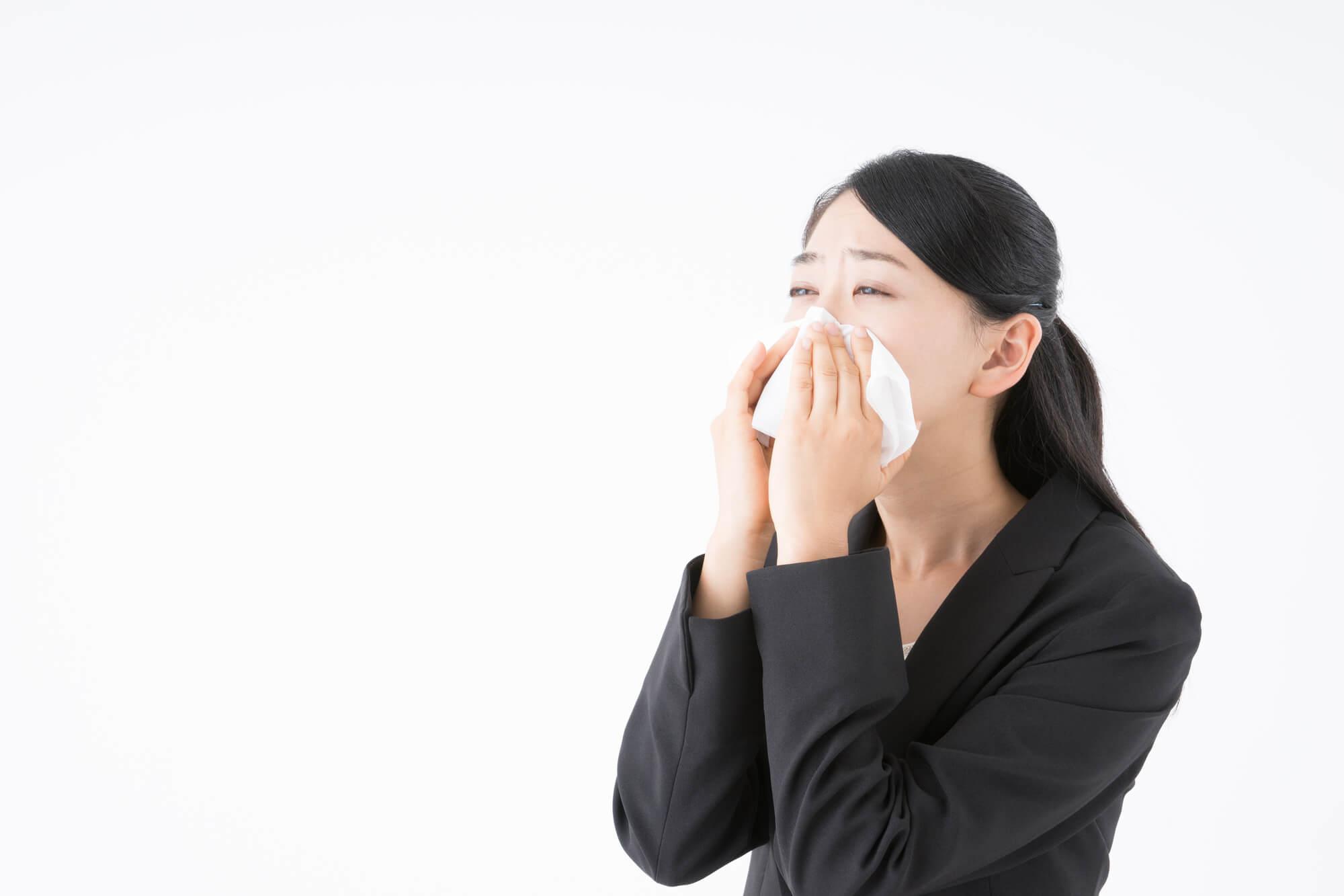止まらない鼻水